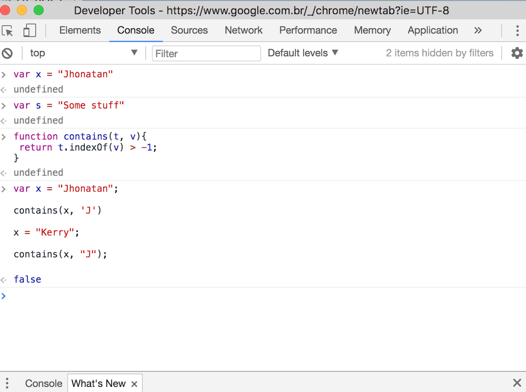 English][Javascript]Using like a Java contains in Javascript -